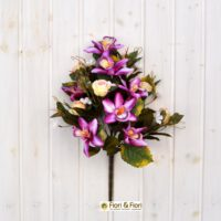 Bouquet fiori artificiali sophia fucsia