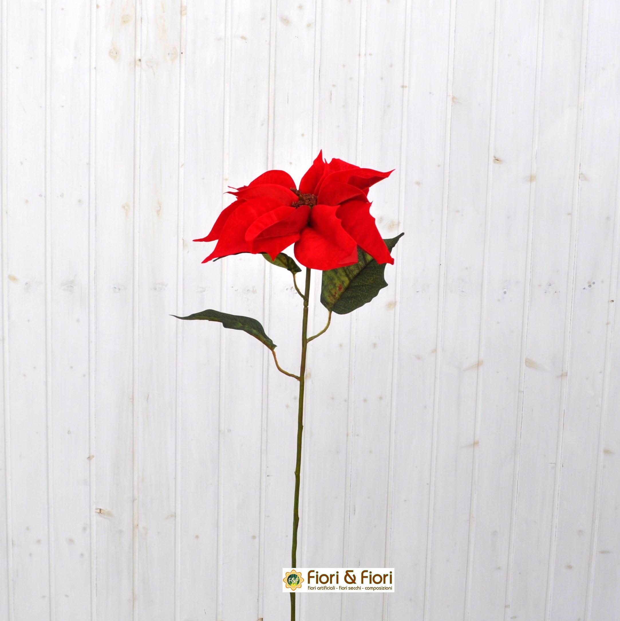 Stella Di Natale Artificiale.Stella Di Natale Artificiale Spray Rosso