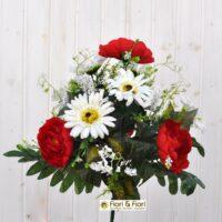 Bouquet fiori artificiali Mughetto rosso