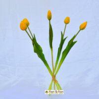 Tulipano artificiale èlite giallo