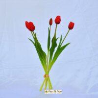 Tulipano artificiale èlite rosso