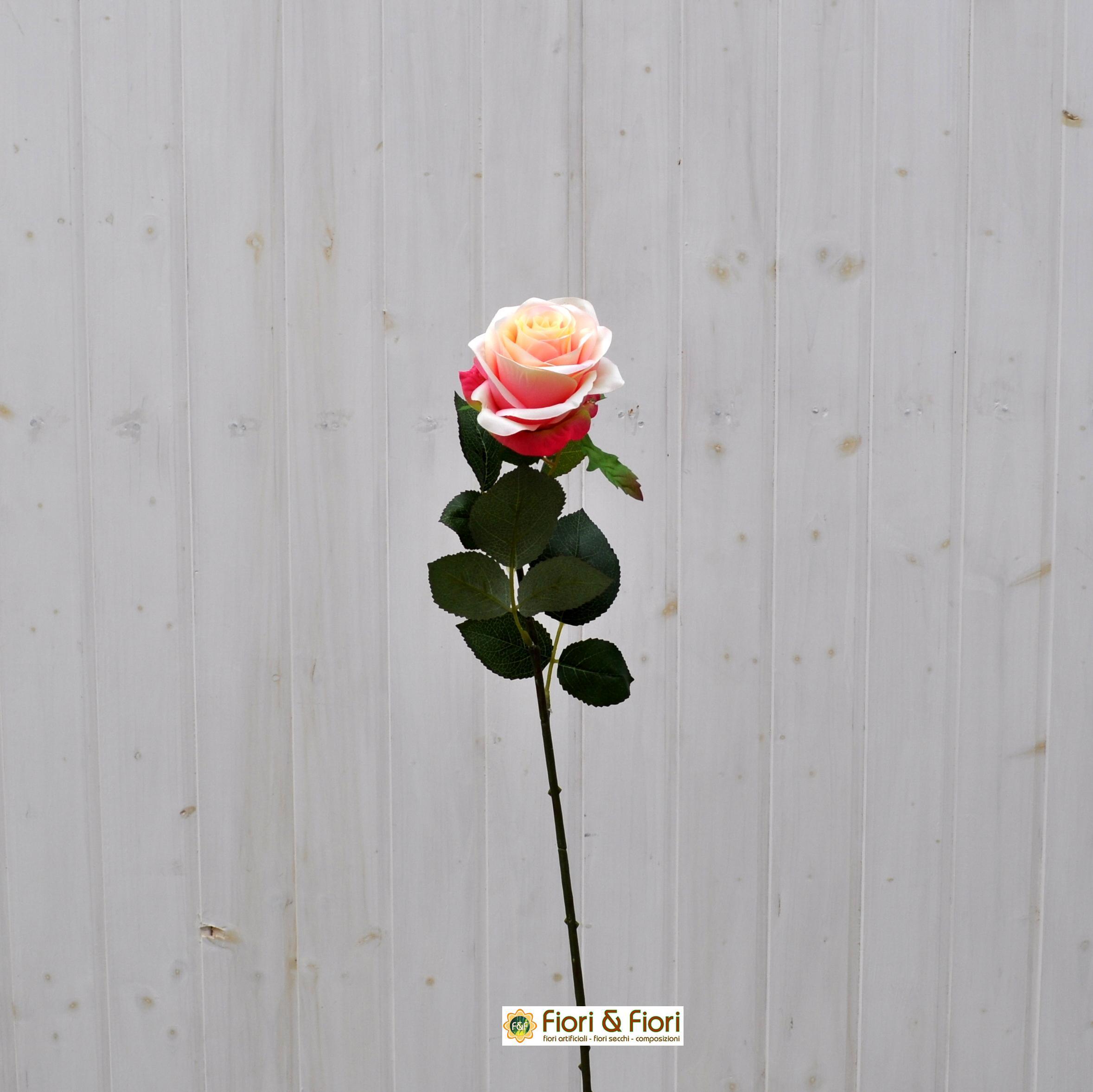Fiore artificiale Rosa france pesca