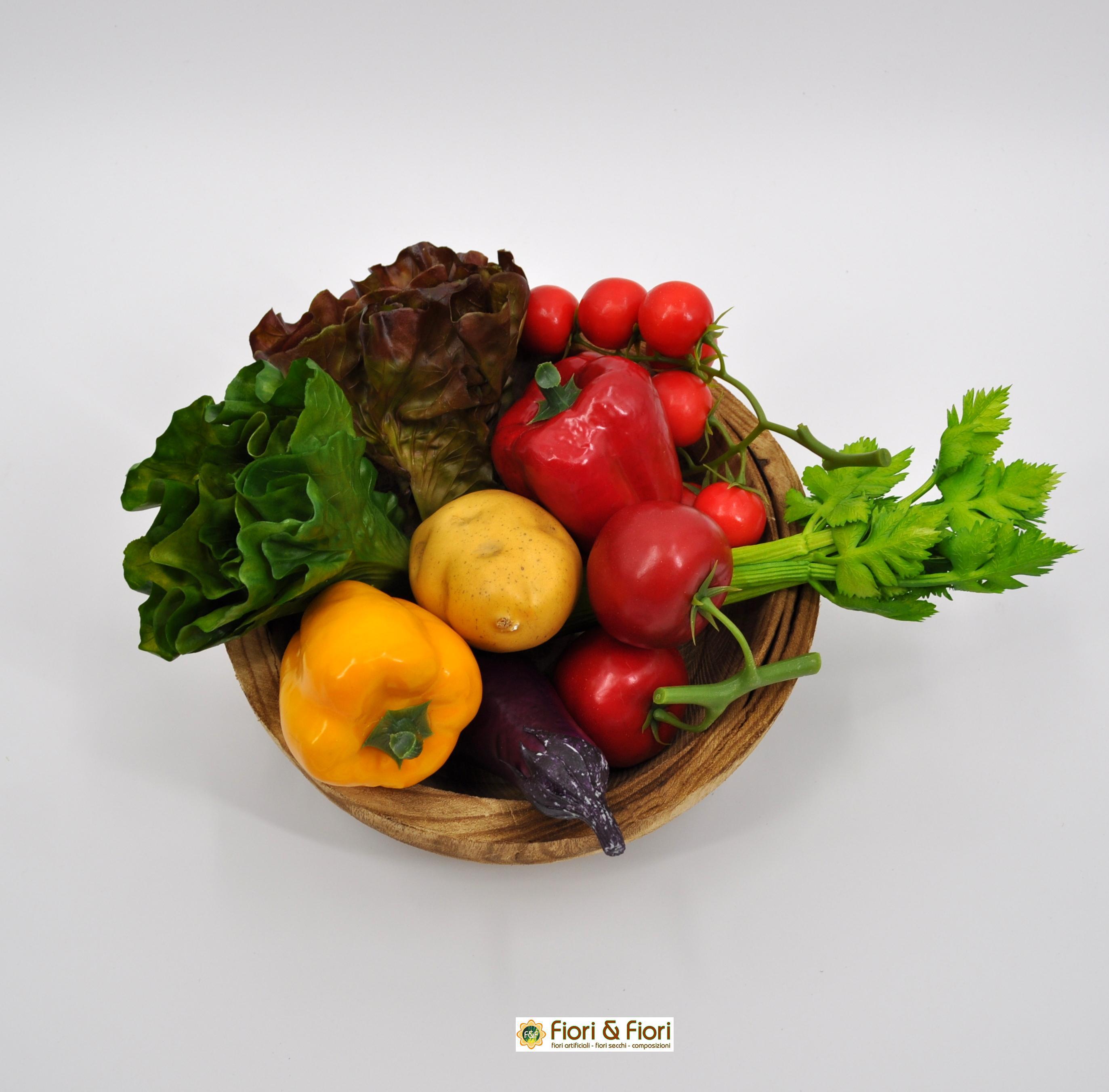Composizioni Facili Di Frutta composizione verdura artificiale