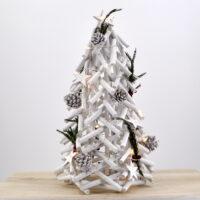 Albero christmas bianco grande