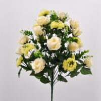 Bouquet Rose e Dalie bianco