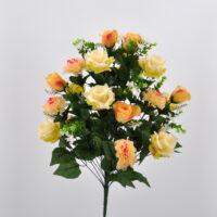 Bouquet Rose e Dalie salmone