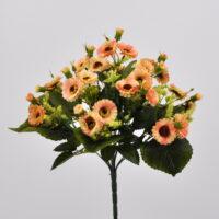 Bouquet fiori artificiali Angelica salmone