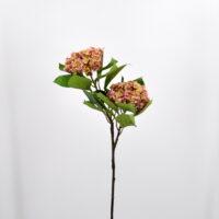 Fiore artificiale Ortensia annabelle rosa