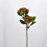 Fiore artificiale Ortensia annabelle verde