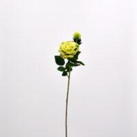 Fiore artificiale Rosa Dalì verde