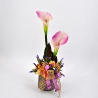 Composizioni fiori finti Julienne