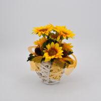 Composizione fiori artificiali giorgia
