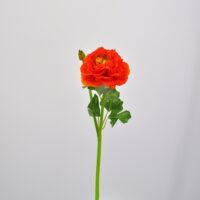 Fiore artificiale Ranuncolo arancio