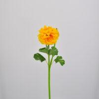 Fiore artificiale Ranuncolo giallo