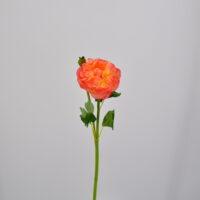 Fiore artificiale Ranuncolo salmone