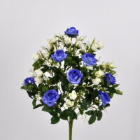 Bouquet fiori artificiali Armony blù