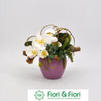 Composizione fiori artificiali Isabella