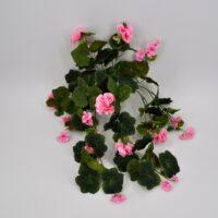 Geranio edera artificiale rosa