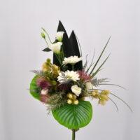 Bouquet fiori artificiali Eden bianco