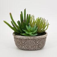 Composizione piante artificiali Esotic
