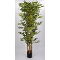 Pianta artificiale Bamboo verde cm 180