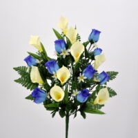 Bouquet Rose e Calle blù