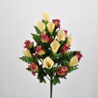 Bouquet Rose e Calle fucsia