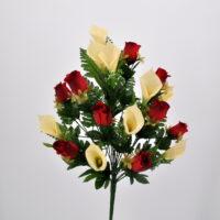 Bouquet Rose e Calle rosso