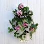 Geranio artificiale pelargonium cadente rosa