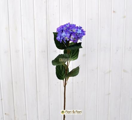 Fiore artificiale ortensia alice bl in tessuto di qualit for Catalogo piante e fiori
