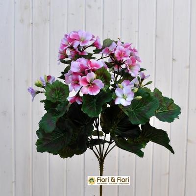 Geranio artificiale pelargonium rosa
