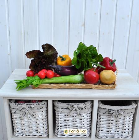 Composizione Verdura artificiale