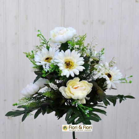 Bouquet fiori artificiali Mughetto bianco