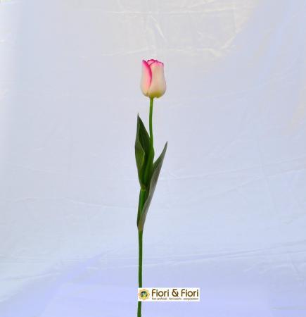 Fiore artificiale Tulipano fucsia