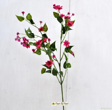 mini flowers fucsia