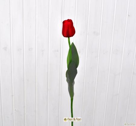 Fiore artificiale tulipano rosso