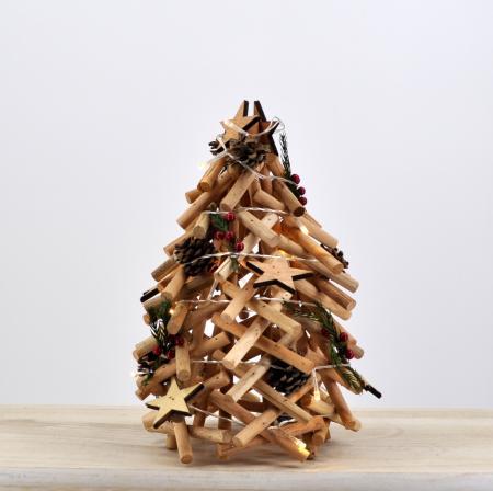 Albero christmas naturale piccolo