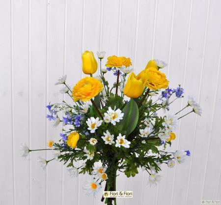 mazzo ranuncoli tulipani