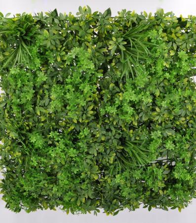 Parete piante artificiali