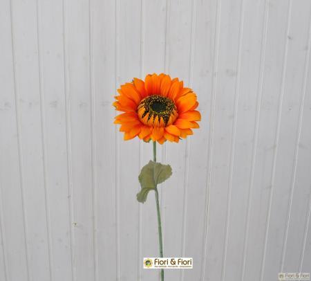 Fiore artificiale Girasole summer arancio