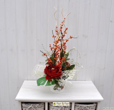Composizione fiori artificiali Matilde
