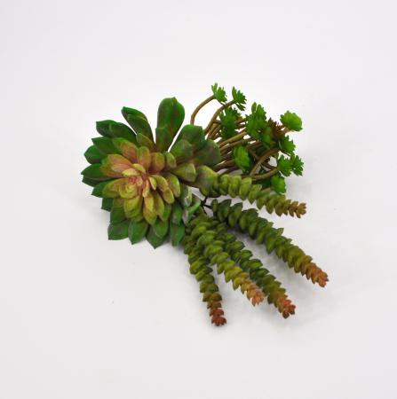 Tris piante grasse artificiali 2