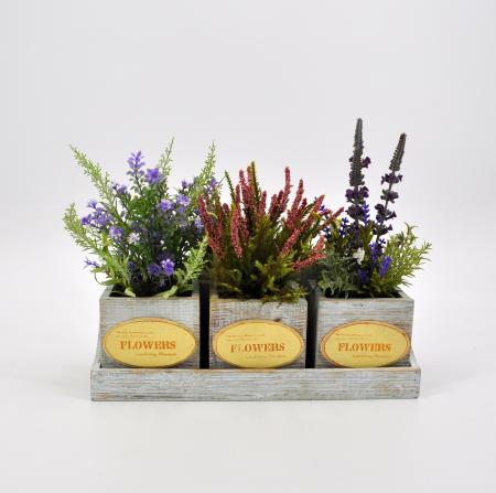 Piante aromatiche country artificiali