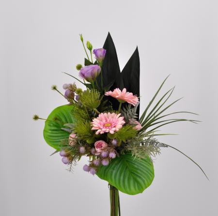 Bouquet fiori artificiali Eden rosa