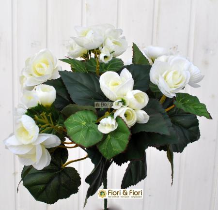 Begonia artificiale bianco