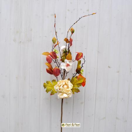 fiori finti margaret bianco