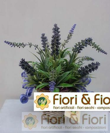 Composizione di fiori artificiali Provenza