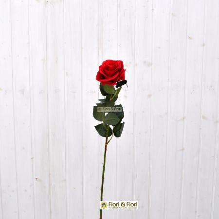 Fiore artificiale Rosa france rossa